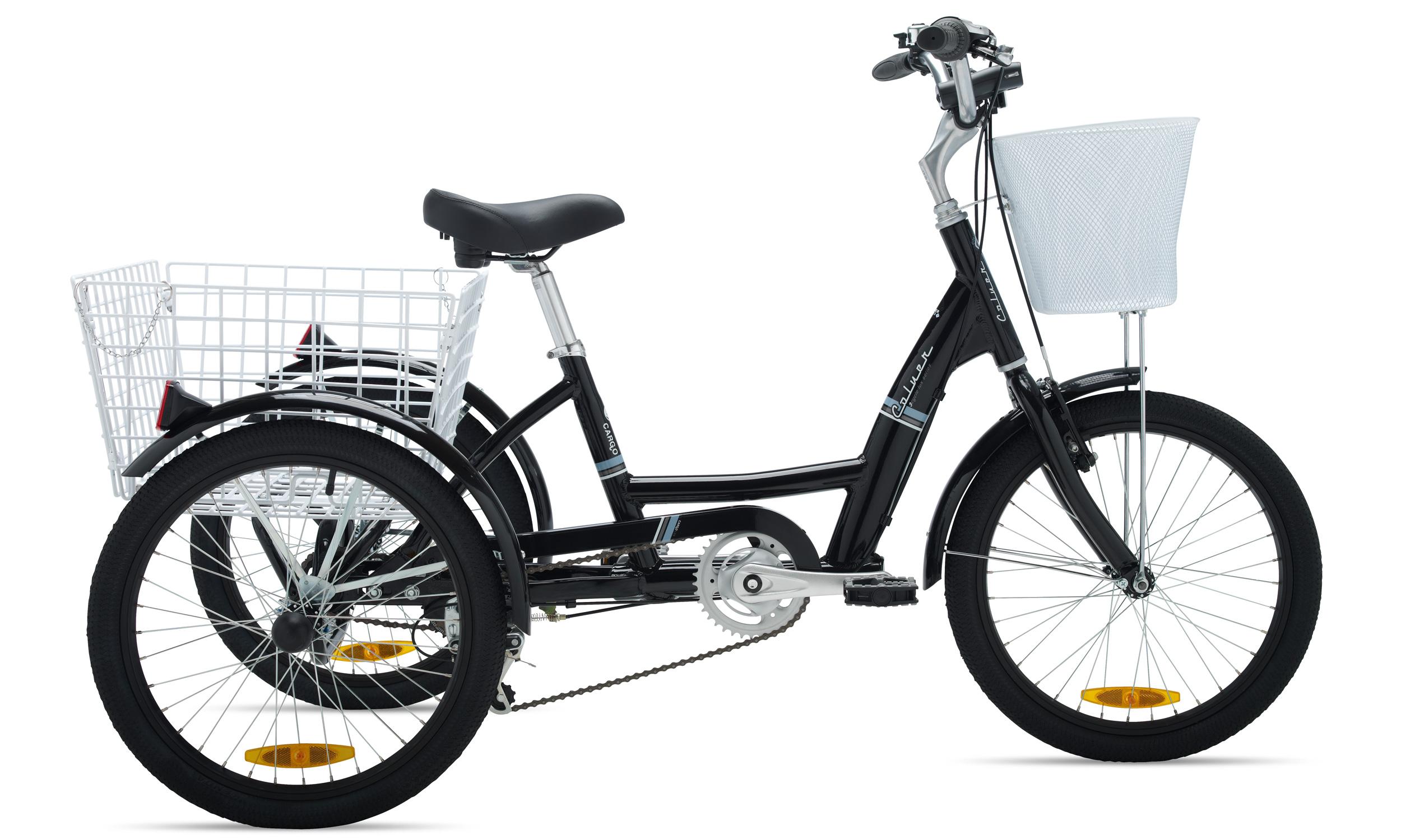 Bici usada de 3 ruedas para adultos