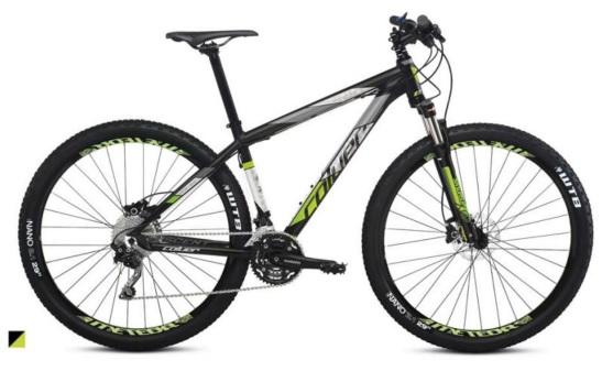 Bicicleta de montaña Coluer Ascent 293 ng verde