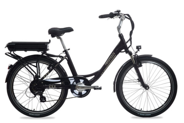 Bicicleta electrica Neomouv Facelia gris