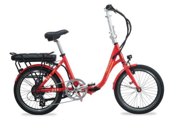 Bicicleta electrica plegable Neomouv plimoa nj