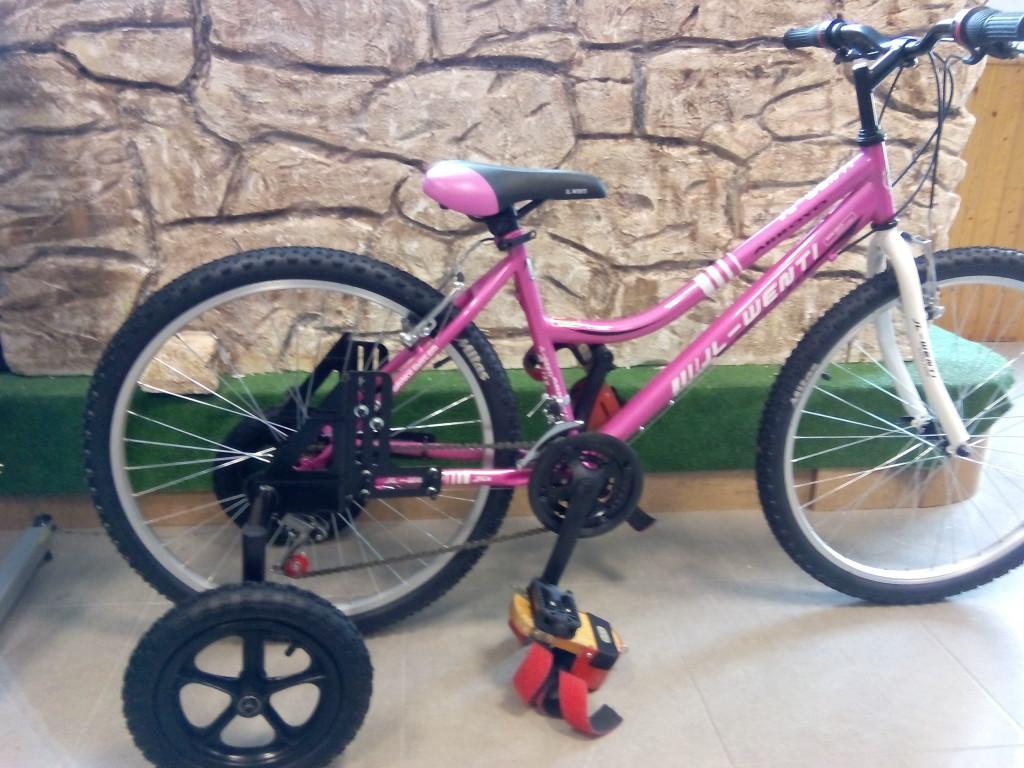 ruedines de bicicleta para adulto
