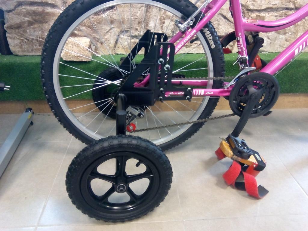 convertir bicicleta en triciclo