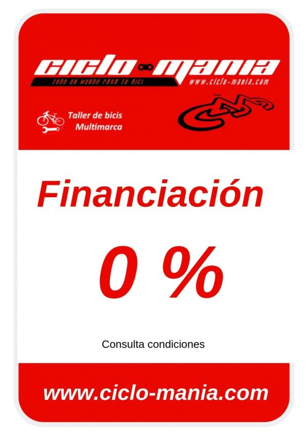 Financiacion al 0 %